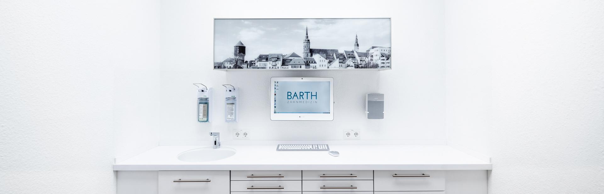 Portrait von Bautzen in der Zahnarztpraxis Dr. Barth.
